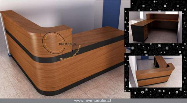 Muebles de recepcion idee per interni e mobili for Mueble recepcion