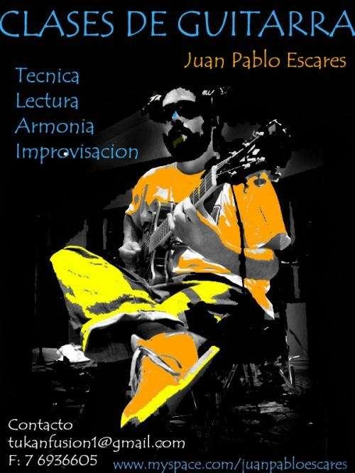 Clases de musica, guitarra e improvisacion