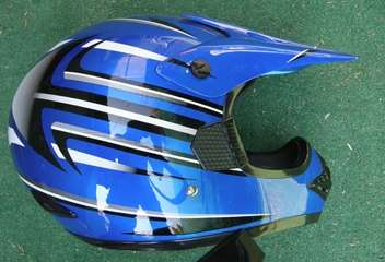 $45.000 vendo casco cross can casi nuevo(brasil) seguridad dot -modelo 606-1