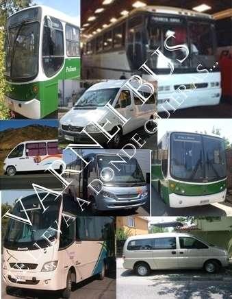 Arriendo de buses / buses -taxibuses -minibuses -van -servicios de transporte y turismo