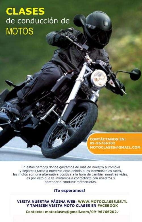 Curso de conducción de motos