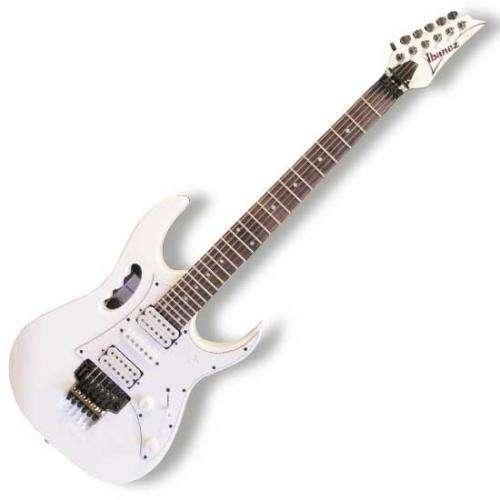 Guitarra ibanez jem jr + hardcase...como nueva