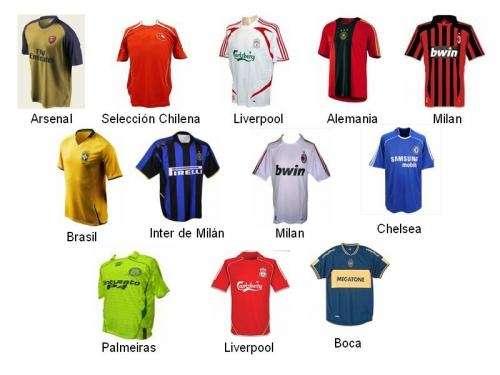 Venta de camisetas de futbol (replicas de equipos internacionales ... 427c8a523b3dd