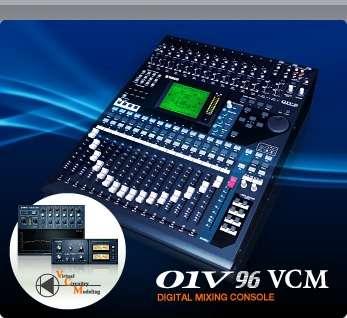 Vendo consola yamaha 01v96v2 + tarjeta de expansion firewire my16at
