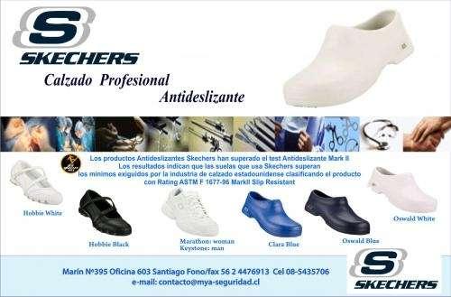 zapatos antideslizantes skechers