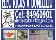 ELECTRICOS A DOMICILIO URGENCIAS