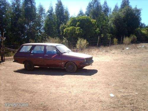 Renault 12 ts break station wagon 78