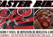 Reparacion y venta  de repuestos de bicicletas a domicilio