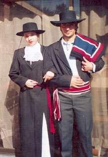 Disfraces y trajes de huasas de campo