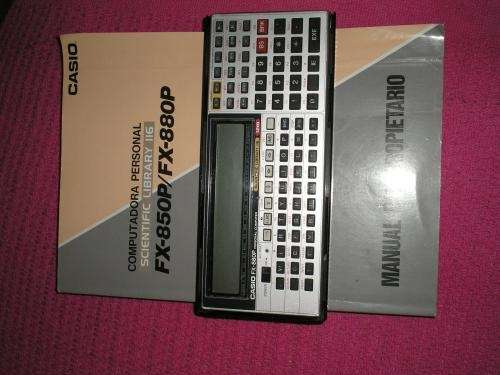 Vendo calculadora casio fx880p