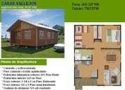 Se construyen casas prefabricadas
