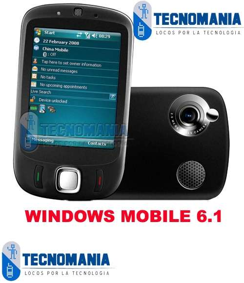 Celular smartphone cect s1 touch flo+ windows mobile 6.1+2gb+ camara+pda