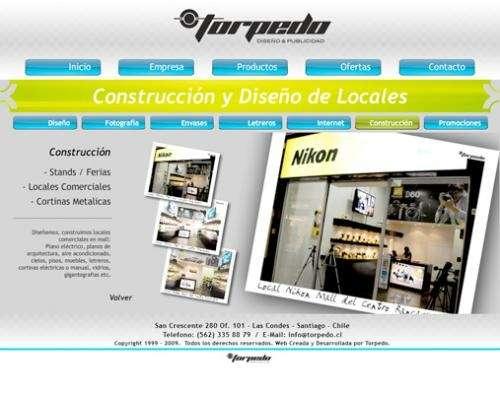Construcción de locales comerciales, stands, módulos, puntos de venta