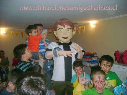 Animacion infantil lazy town, ben 10, barney, spiderman, discopeque,mago , magia, princesas, payasitas 02 8507584 - 08 7643889