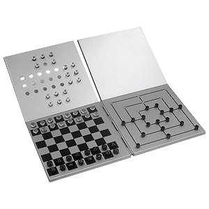 Multijuegos magnético de aluminio