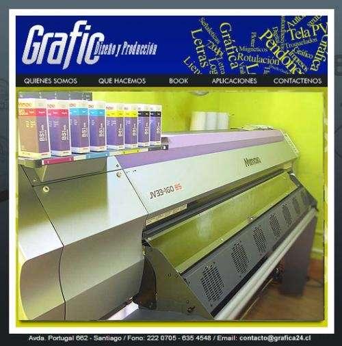 Rotulaciones gráficas publicitarias grafica24