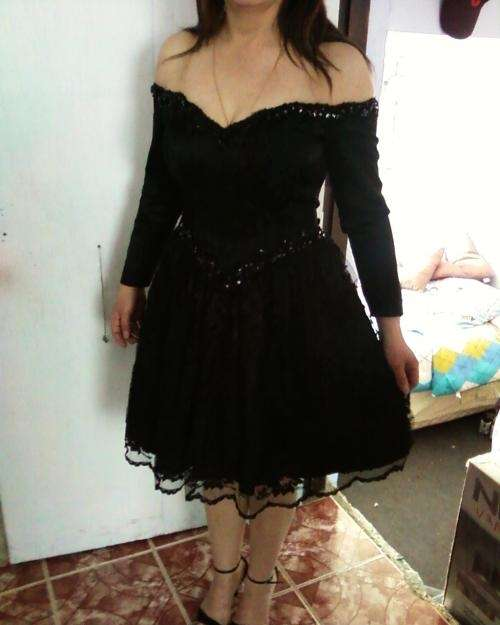 Vendo vestido de fiesta xl