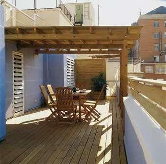 Terrazas Pérgolas Decks Y Cobertizos En Madera En Santiago