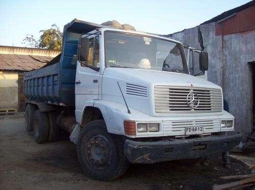 Camion tolva 1618 mercedes benz