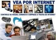 Camaras de seguridad monitoreadas por internet