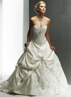 Hermosos vestido de novia importado