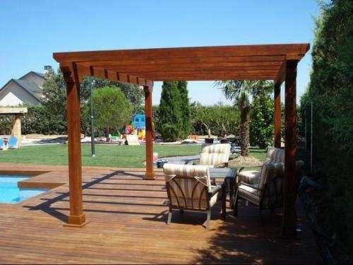 Decks Cobertizos Terrazas Y Pergolas En Madera En Santiago - Pergolas-en-terrazas