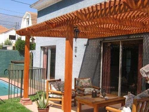 Fotos De Terrazas Pérgolas Decks Y Cobertizos En Madera En