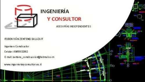 Ingenieria y consultor, asesorias