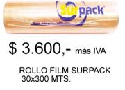 Rollos Film Alusa 300 metros