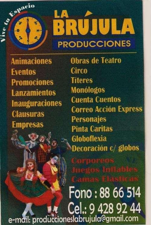 Animaciones productora la brújula.