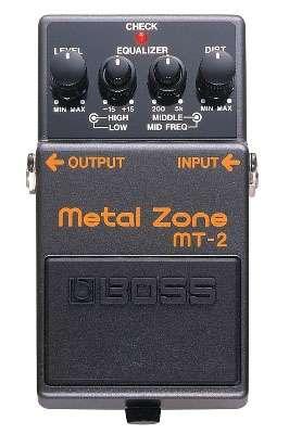 Vendo pedal boss mt-2 metal zone