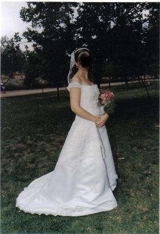Vestido de novia baratísimo
