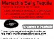 mariachis 4 x $ 50.000. fonos 6388358 /  7-6260519 sal y tequila mariachis