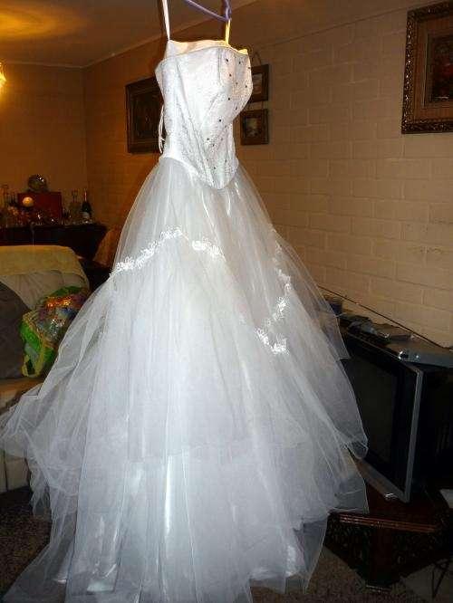 se vende vestido de novia usado – vestidos de noche