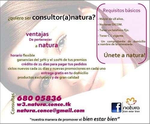 Natura conce   venta de cosméticos natura   bien estar bien