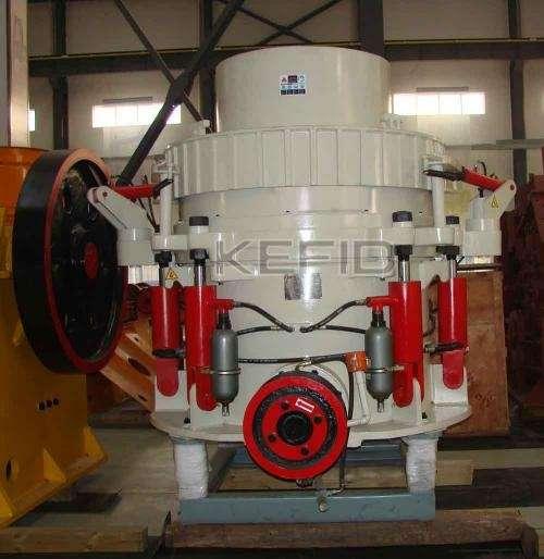Trituradora de cono hidráulica hp series