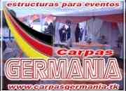 Carpas Germania arriendo de carpas para eventos en Los angeles