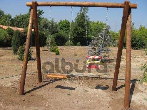 Albura Juegos Infantiles De Madera Impregnada En Valparaiso