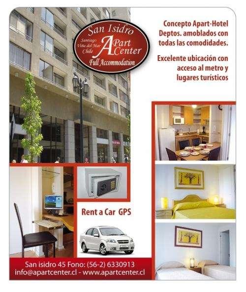 Alojamiento en santiago apart hotel