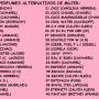 PERFUMES ALTERNATIVOS DE HOMBRE Y MUJER