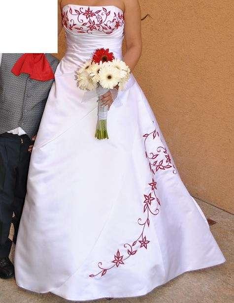 Vestido Novia Rojo En Región Metropolitana Ropa Y Calzado