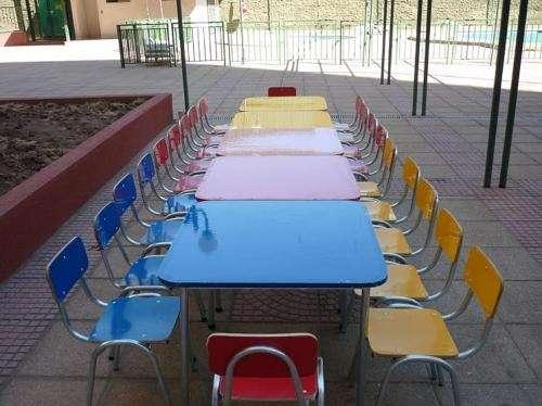Sillas y mesas niños adultos arriendo 68392025
