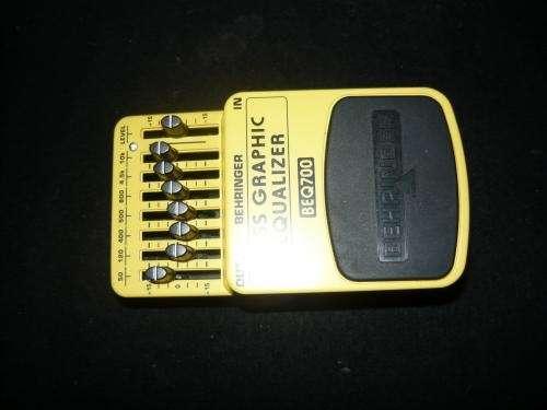 Ecualizador para bajo electrico y teclado