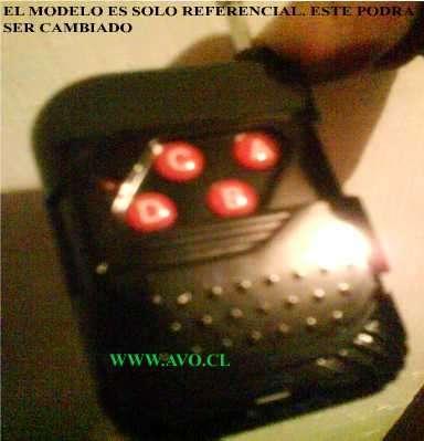 Controles remotos portones automaticos f: 2622832 www.avo.cl