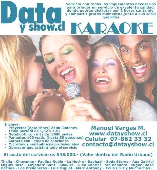 Arriendo karaoke a domicilio todo santiago