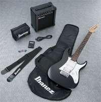 Vendo guitarra electrica ibanez (pack jumpstar) negra nueva