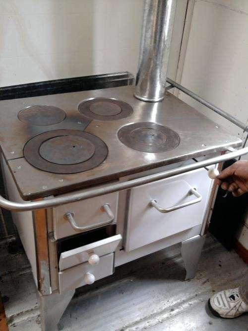 Genial cocinas de le a usadas galer a de im genes cocina - Cocinas de lena ...