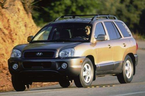 Hyundai santa fe exelente