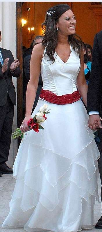 vestidos de fiesta -novias jacaranda patronato en santiago - ropa y