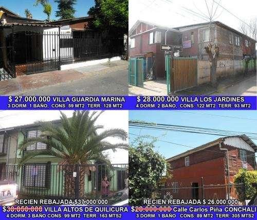 Casas En Venta Quilicura Todos Precios En Santiago Casas En Venta